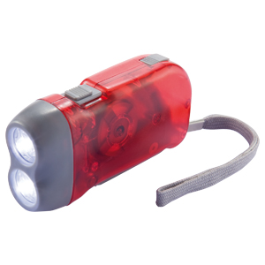 Linterna LED con Dínamo 3