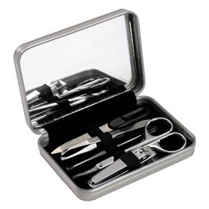 Set Manicure Metálico