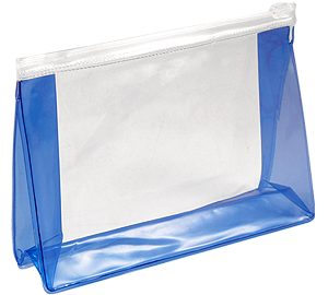Cosmetiquero de PVC clear
