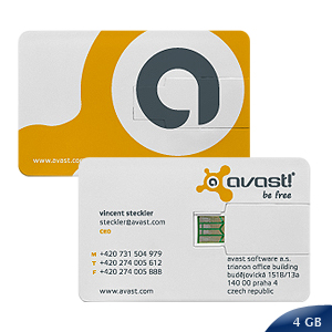 Pendrive Credit Card 4 GB 4