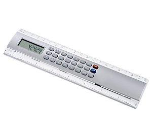 Regla 20cm con Calculadora