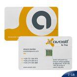 Pen Drive Credit Card 2 GB 4