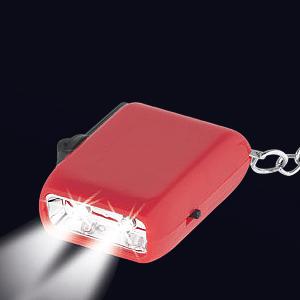 Llavero-Linterna LED Dínamo 4