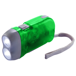 Linterna LED con Dínamo 4