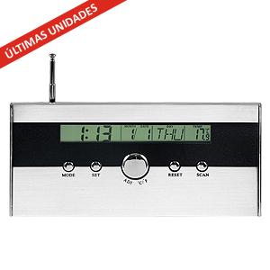 FM auto-scan Radio Reloj 3