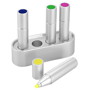 Set 4 Destacadores Color