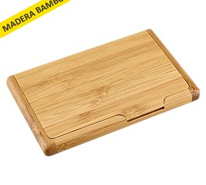 Tarjetero de Bamboo