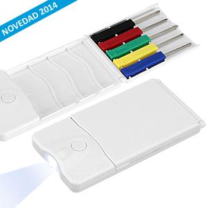 Set Mini-Destornilladores y LED 3