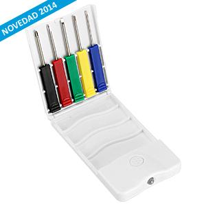 Set Mini-Destornilladores y LED 4