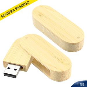 USB Pendrive 4GB Bamboo