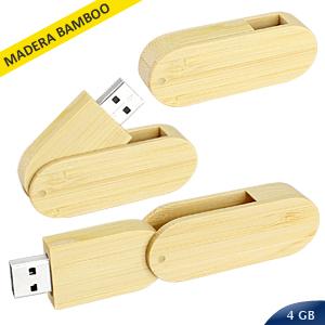 USB Pendrive 4GB Bamboo 3