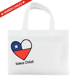 Vamos Chile Small Bag 30 x 22 cm.