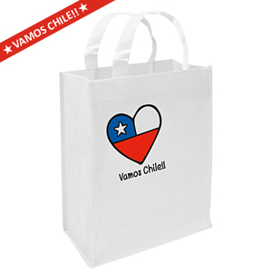 Vamos Chile Medium Bag 25 x 30 x 8 cm.