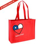Vamos Chile Congress Bag 40 x 32 x 12 cm.