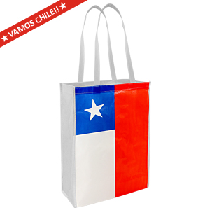 Eco Flag Shopping Bag 30 x 40 x 12 cm.