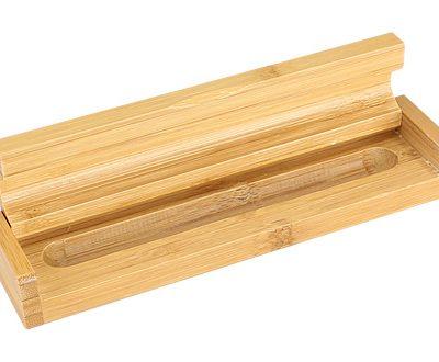 Estuche Porta-Lápiz de Bamboo