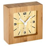 Reloj Despertador de Bamboo 1