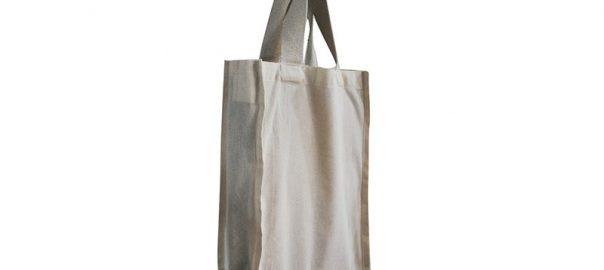 Bolsa de algodón BC02C 40 x 30 x 10 cm.