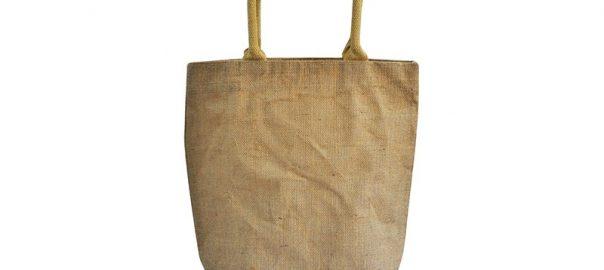 Bolsa de yute BJ010C 40 cm de alto, 38 cm de ancho y 20 cm de fuelle.