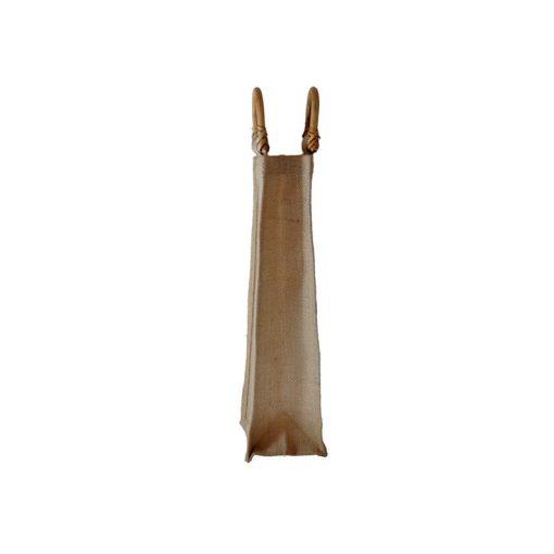 Bolsa de yute WBJ03C 35 cm de alto, 10 cm de ancho y 10 cm de fuelle