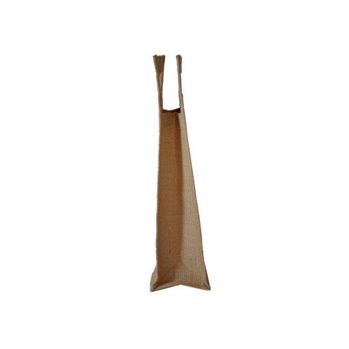 Bolsa de yute WBJ04C 38 cm de alto, 10 cm de ancho y 10 cm de fuelle.