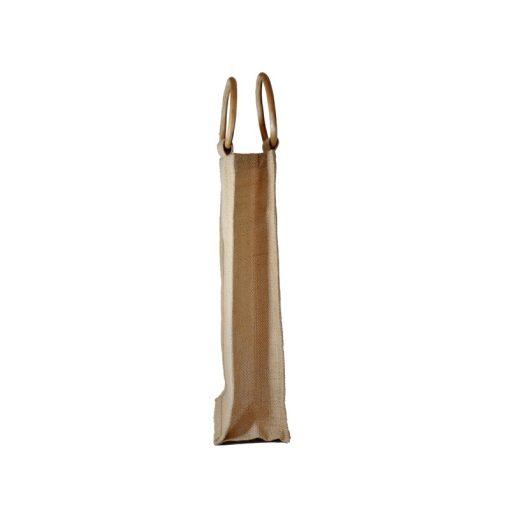 Bolsa de yute WBJ012C 35 cm de alto, 20 cm de ancho y 10 cm de fuelle