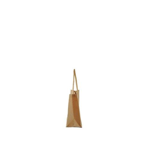 Bolsa de yute BJ09C 40 cm de alto, 40 cm de ancho y 20 cm de fuelle.