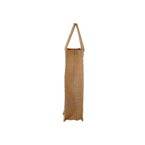 Bolsa de yute WBJ05C 35 cm de alto, 10 cm de ancho y 10 cm de fuelle