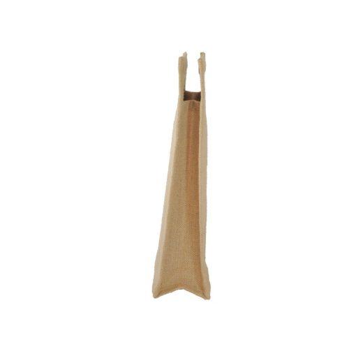 Bolsa de yute WBJ010C 35 cm de alto, 20 cm de ancho y 10 cm de fuelle