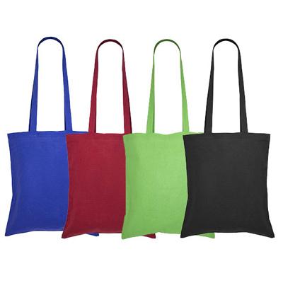 bolsa algodon color