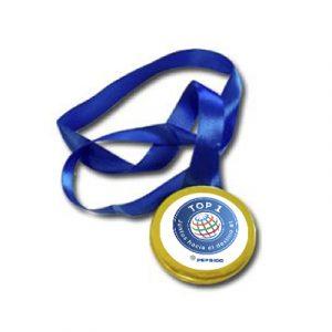 medalla chocolate