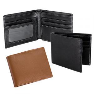 billetera con logo