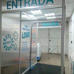 tunel sanitizante